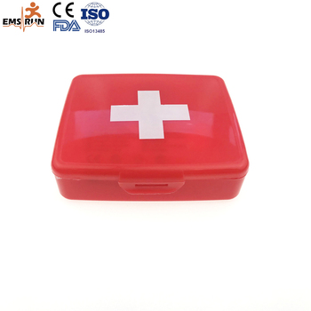 produced waterproof emergency empty first aid kit box