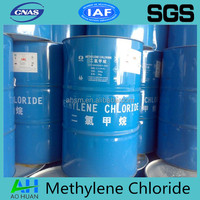 Industrial grade Methylene Chloride as dichloromethane used as chemical solvent