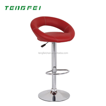 Hot sell Bar stool with PU leather SGS 330# gas lift Good quality and best service