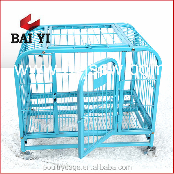 Cheap Square Tube Steel Dog Box Cage And Collapsible Dog Kennel