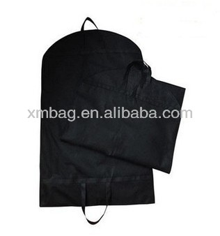 Garment Coat Clothes Travel Carrier Zip Black Bag