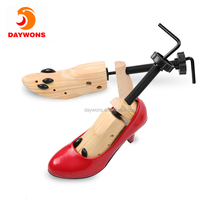 Adjustable Shoe Stretcher Expander for Shoes Wood and Metal Extender & Widener Stretching Two Ways