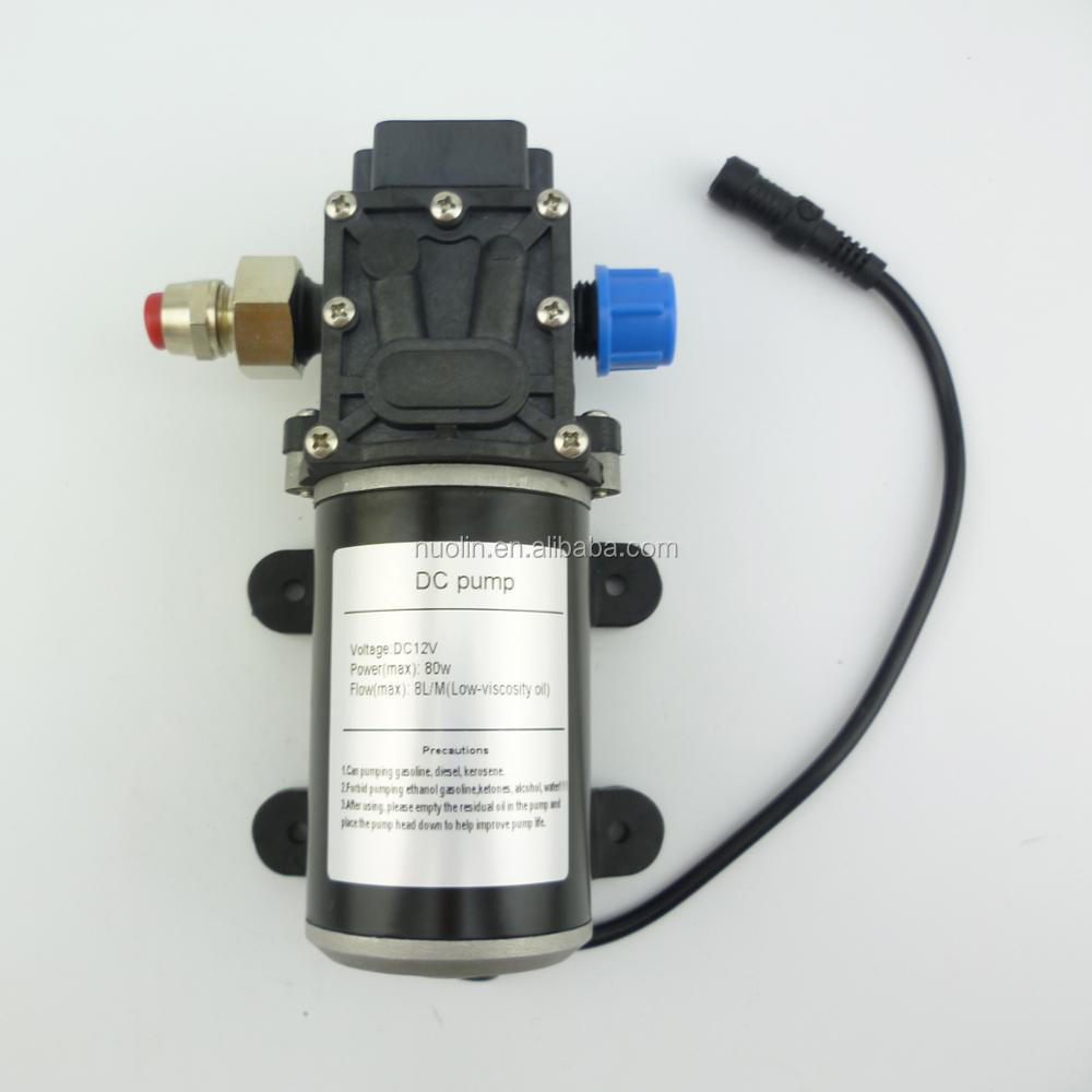 80w portable electric dc 12v self priming mini <strong>diesel</strong> and gasoline fuel transfer pump for truck