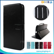Contracted Crystal Crazy Horse Grain Photo Frame Card Slot Case For Meizu M3 Note Flip Leather Case
