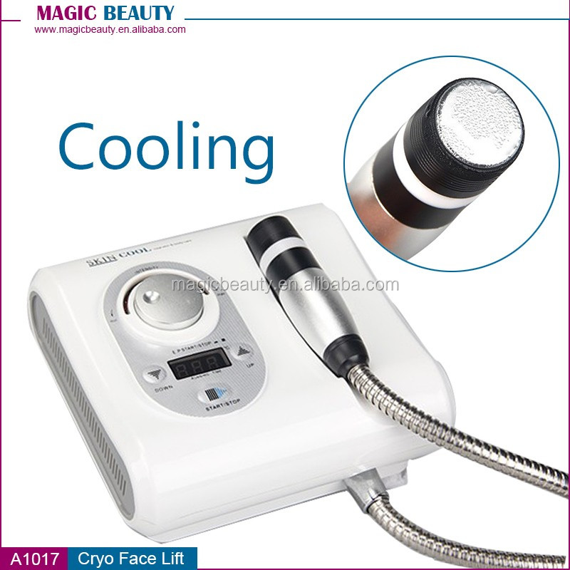 Cryo Cool Hot Electroporation No Needle Mesotherapy Skin Face Lifting Machine