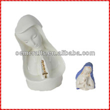 Top quality two madonna religious decoration