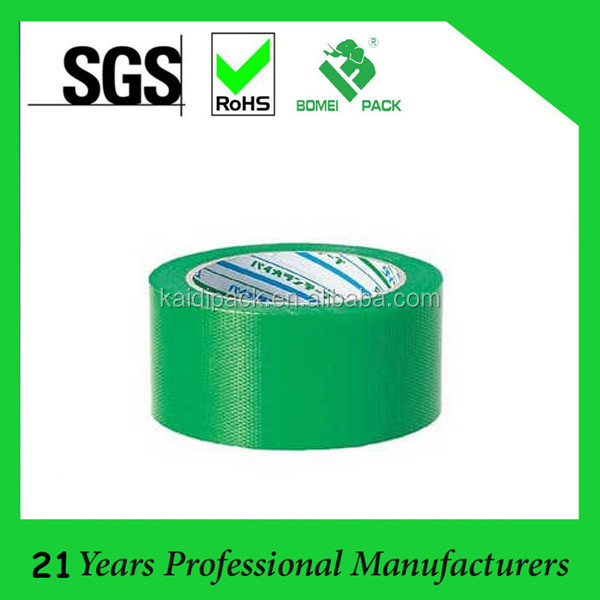 green cloth duct tape with OEM