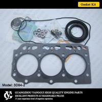 3D84-2 Cylinder Gasket Kit YM129322-01330 For Yanmar Forklift Engine 3D84