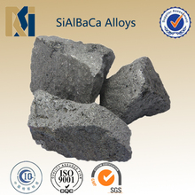 SiAlBaCa alloys deoxidizer hot sell to foreign market