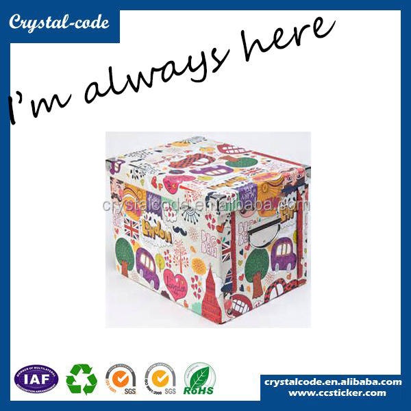 high quality fast delivery recycled cartoon box for packaging