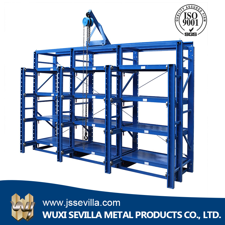 Massive Durable Plate-Type Mold Solar Racking System