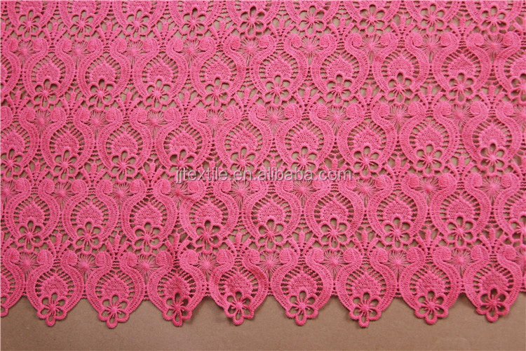 3d wedding african garment red embroidery lace