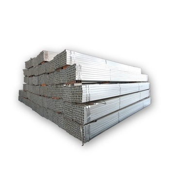 ASTM steel profile ms square tube galvanized square steel pipe gi pipe price for building