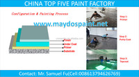 CHINA TOP FIVE COATING FACTORY-Maydos Heavy Duty Resistance Mortar Floor Paint
