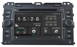 7 inch android system car dvd player for car with 3G 4G WIFI & RDS Parts gift for Toyota
