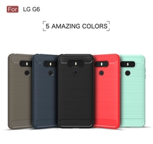 Mobile Phone Back Cover Case for LG G6 TPU Soft Case