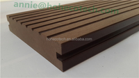 Environment friendly, 100% recyclable sanding WPC wood plastic composite decking/flooring composite deck