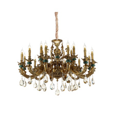 2019 Italy design Luxury chandeliers k9 <strong>crystal</strong> baccarat chandelier bangladesh bronze metal living room bedroom hotel