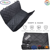 B625 Pet Dog Seat Cover for Cars Waterproof Pet Car Seat with Carrier Bag