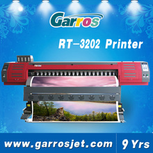 3.2m(10.5 feet) eco solvent car sticker printing machine with 2pcs Dx5/Dx7/second coded head 1440dpi