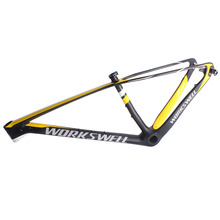 Workswell best selling fixies carbon bike frame mtb carbon frame 29er with CEN and SGS test
