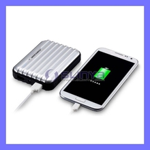 Dual USB Luggage 8800mAh External Battery Power Bank Charger