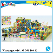 indoor soft play Kid used Indoor Playground Equipment for Sale