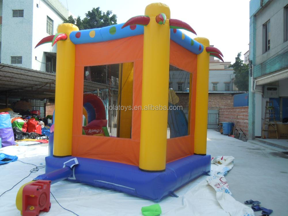 HOLA clown inflatable kids castle/bouncy castle prices