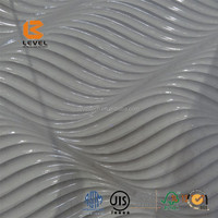 Durable Special Wave Design Carved 3D Wall Panels Covering Decoration Board