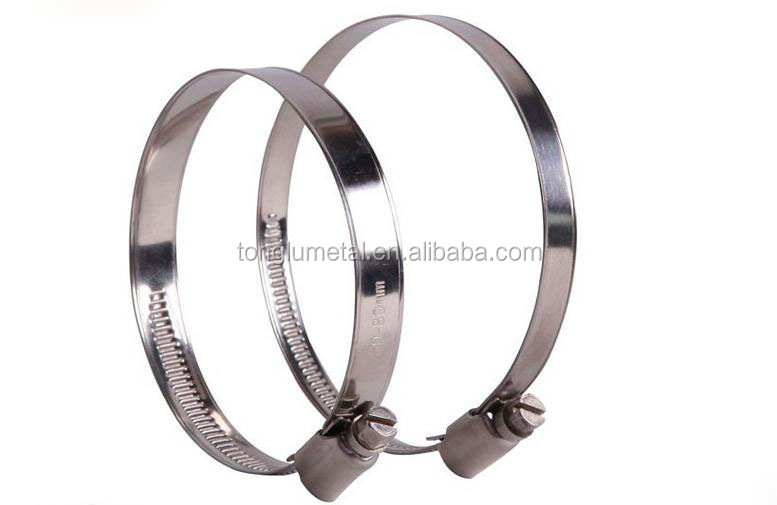 9mm stainless steel hose clamps german type