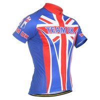 Wholesale cheap manufacturer sublimation printed cycling jersey