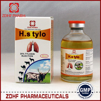 respiratory medicine tylosin 20 Injection for cow