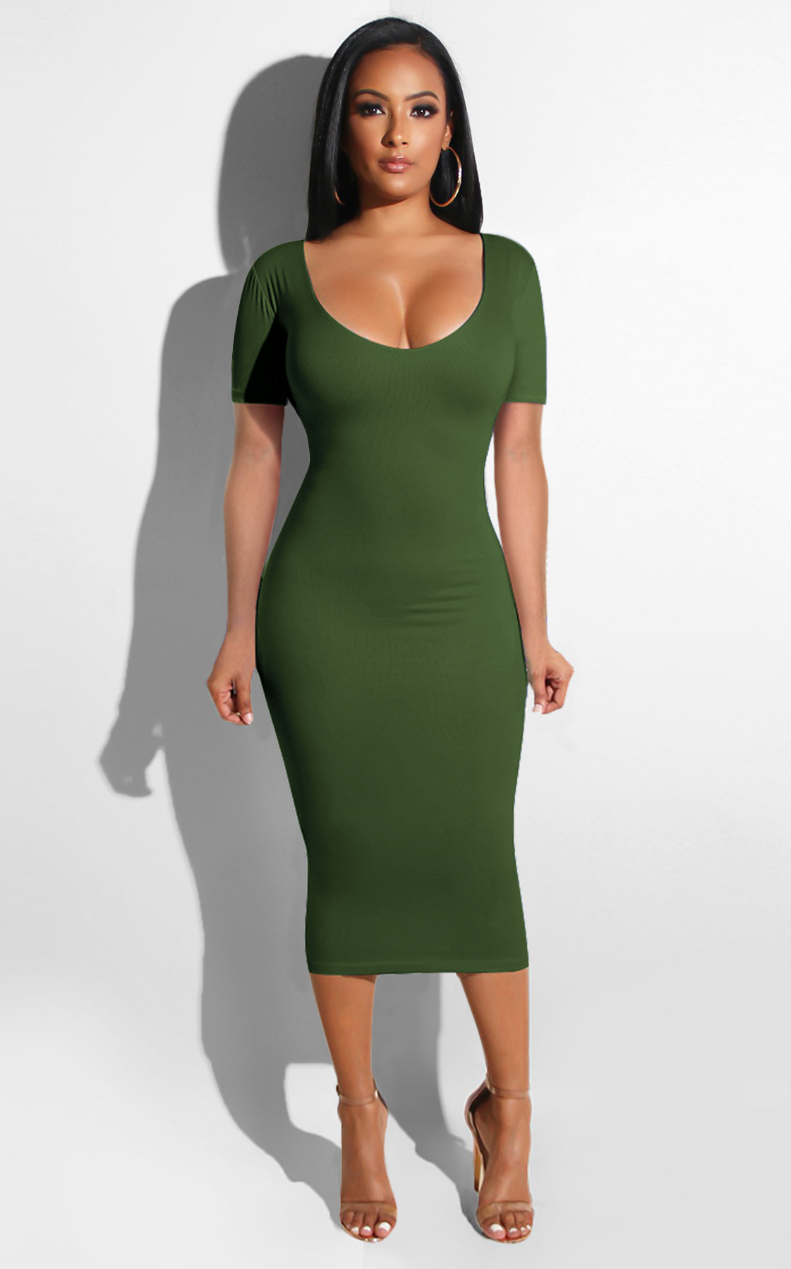 2409  solid latest long club dress hot night dress women clubwear bodycon