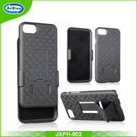 Shockproof Heavy Duty Shell Holster 2 in 1 Combo Case for iPhone 7