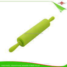 ZY-I1119 Best Sell Plastic Handle Bakeware Kids Silicone Rolling pin