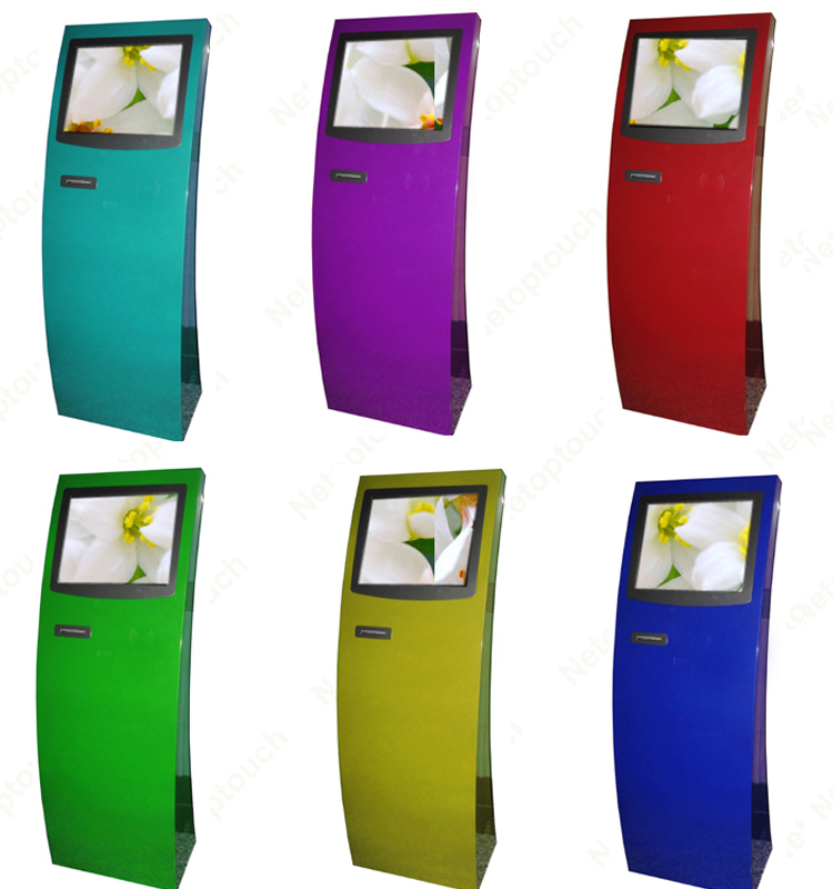 Touch Kiosk with Printer