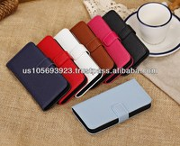 Liche Credit Hard Smart stand Leather Case Cover For Iphone 5c 7 colors