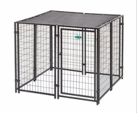 Pet Safe Do-it-Yourself Dog Kennel with Roof & Cover Kit 10 ft. W x 10 ft. L x 6 ft. H