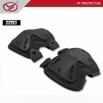 Soft plastic and EVA Material military elbow pads