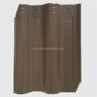 Yixing hot sale interlocking clay roof tile, lightweight waterproof building materials