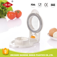 Professional factory custom color cheap plastic boiled egg slicer