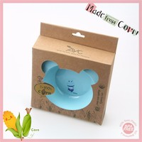 PLA Hard Plastic biodegradable BPA Free Non-toxic Mickey Kids Food Bowl