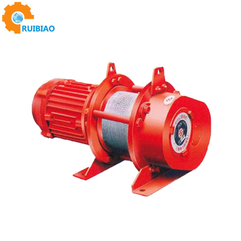 Electric winch have load 10Ton winch 380v OF construction