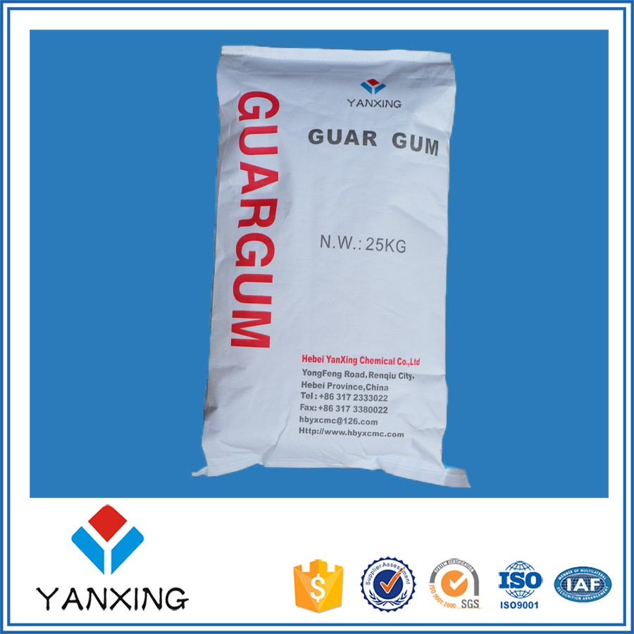 ISO Factory supply Guar Gum Industrial additive with best price