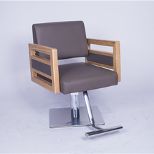 Salon furniture fancy luxury footrest men's beauty barber used styling hair salon chair for sale