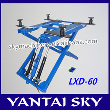 china supplier new product scissor car lift/elevadores de autos for sale