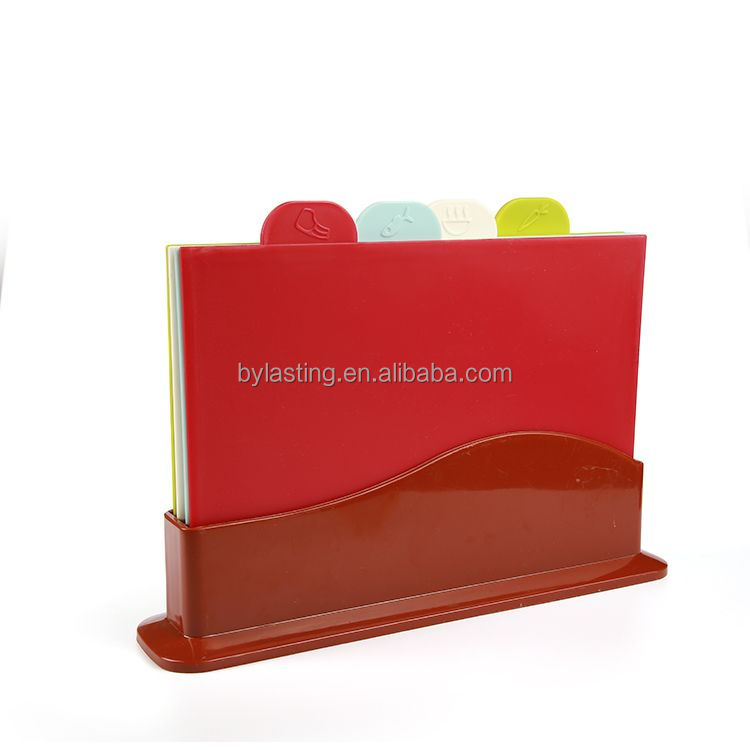 Multi-function Combined Colorful Plastic Chopping Board
