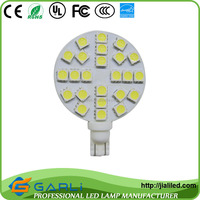 factory direct sale 5w 24 smd 5050 pure white cool white t10 194 921 W5W 1210 147 168 192 RV led interior lights 12-24v