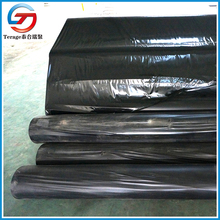 flexible black pvc film for pool