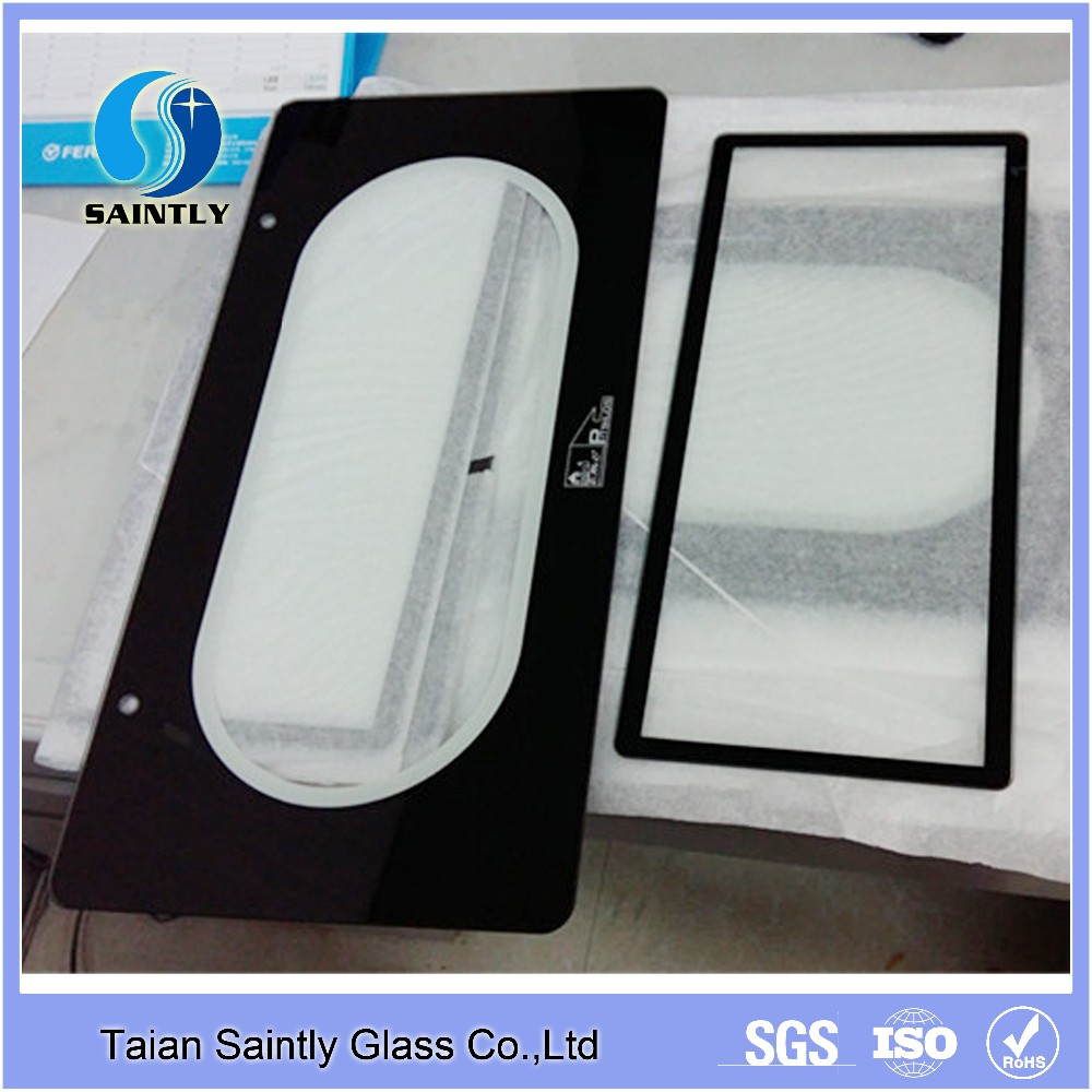 China produce high quality oven door tempered glass with ccc/ce Certification
